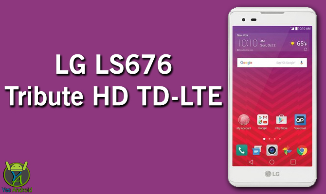 LG LS676 Tribute HD TD-LTE Full Specs Datasheet