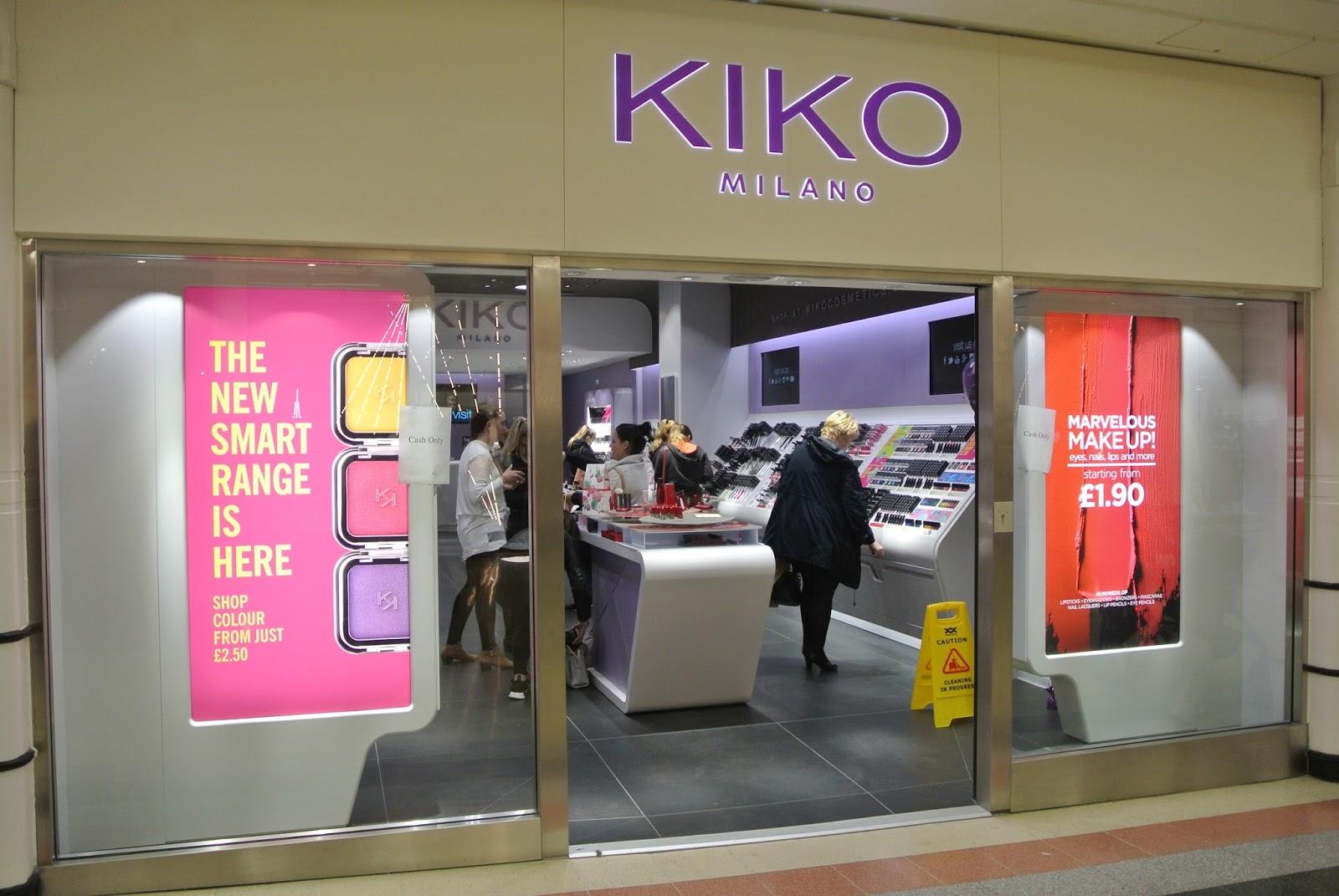 Kiko Milano in The Bridges Sunderland Christmas Gifts 2016