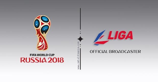 Channel Liga HD di Satelit Intelsat 19 Menyiarkan Live Piala Dunia 2018