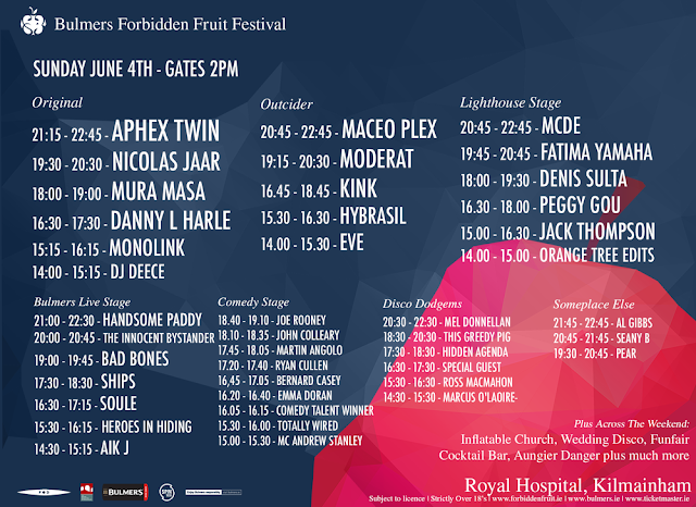 Forbidden Fruit Festival 2017 Sunday