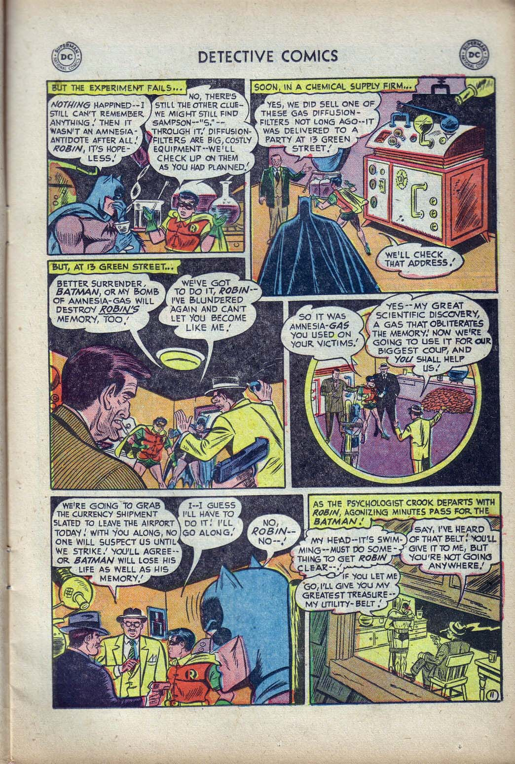 Read online Detective Comics (1937) comic -  Issue #190 - 13
