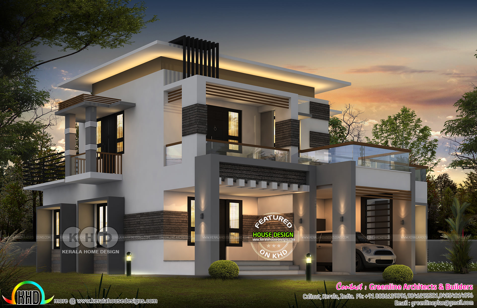 2811 square feet 4 bedroom contemporary house architecture ...
