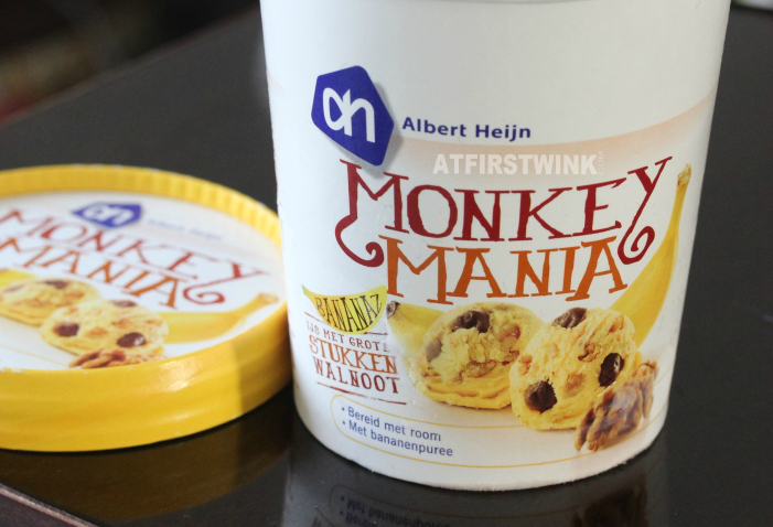 Albert Heijn Monkey Mania ice cream