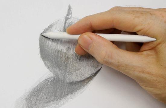 kalemle meyve resmi çizmek