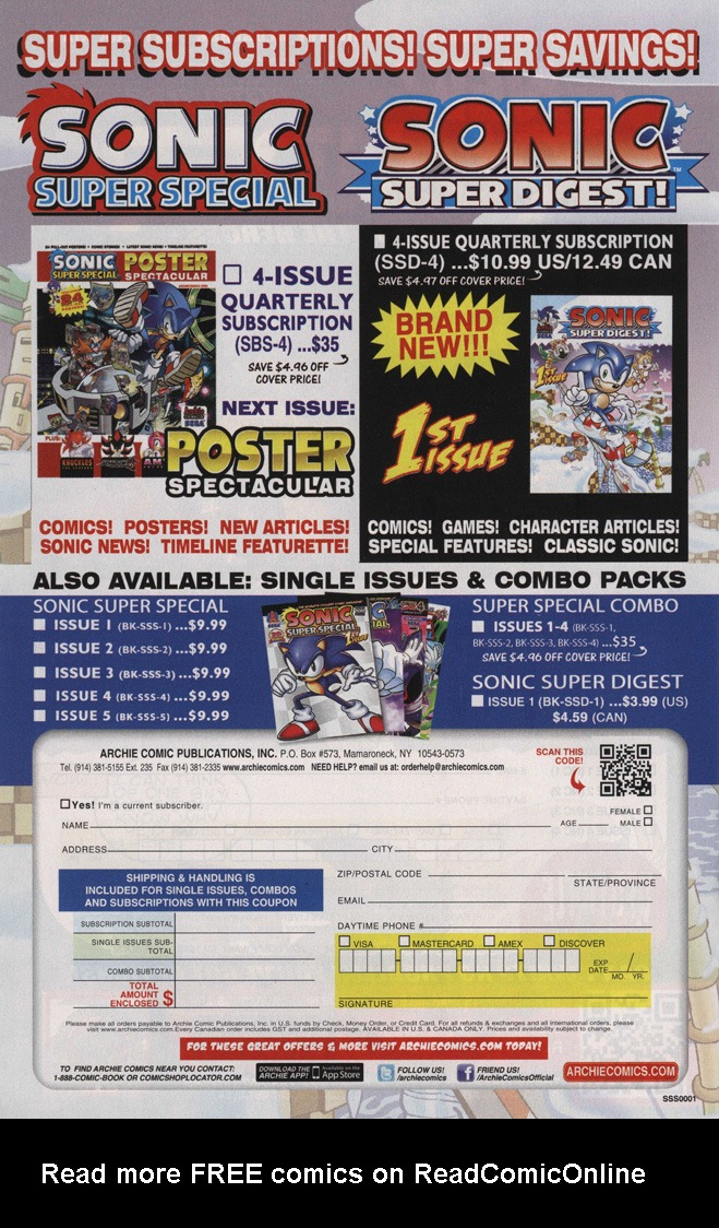 Read online Sonic The Hedgehog comic -  Issue #244 - 26