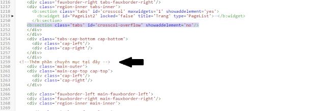 Cách tùy chỉnh bố cục trong Blogspot