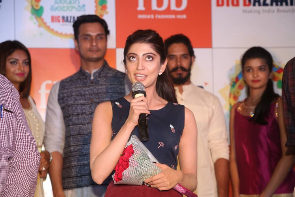 Pranitha At Big Bazaar Navratri 2017 Collections Launch Event Gallery