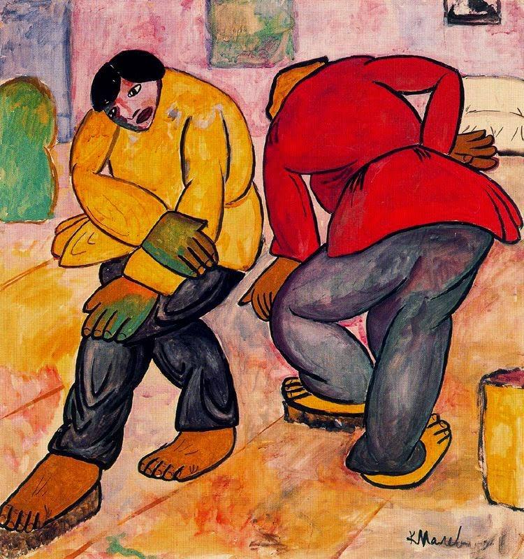 Enceradoras - Kasimir Malevich e suas pinturas com elementos geométricos abstratos