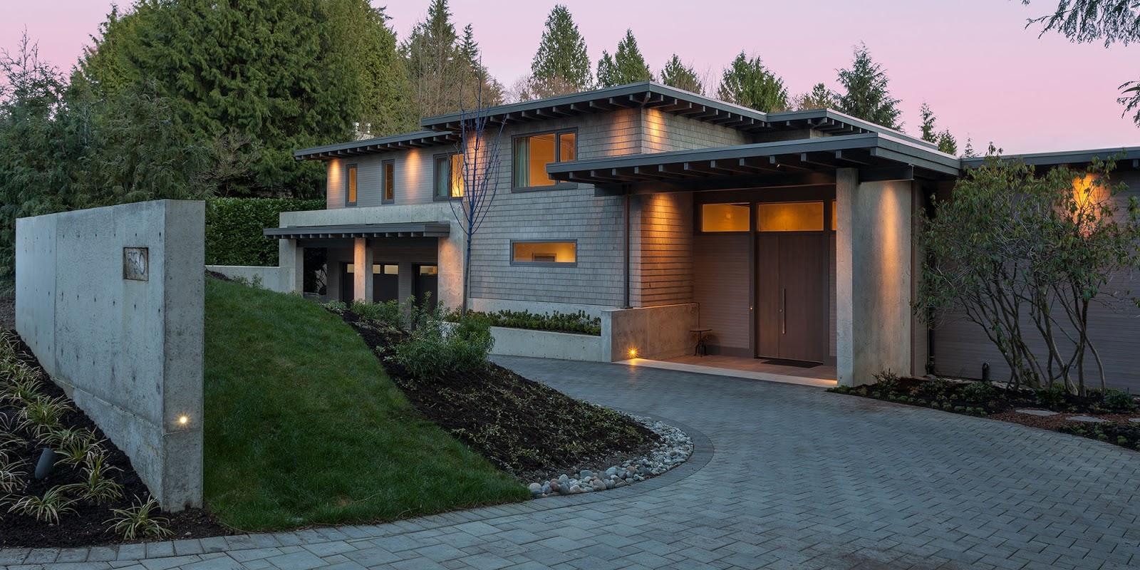 Superb Vancouver Modern Home Tour