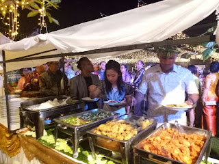 Wedding Catering di Villa Palosa Bali