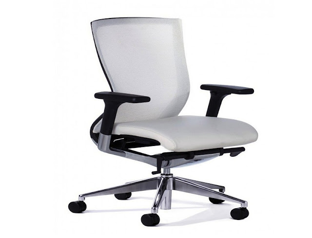 best buy white executive office chair ergonomic ultra modern 360 for sale