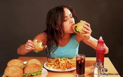kalautau.com - Nafsu Makan Berlebihan, Mungkin Anda Sedang Stress
