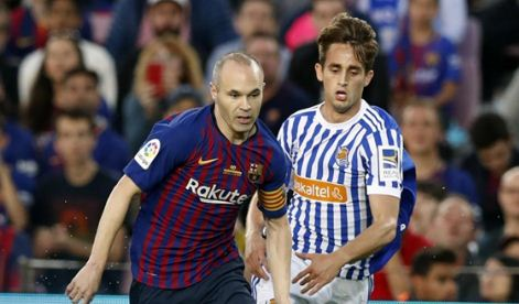Barcelona vs Real Sociedad 1-0 Video Gol Highlights - La Liga