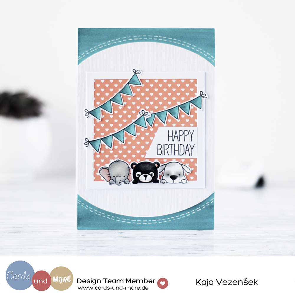 Birthday animals | CARDS UND MORE