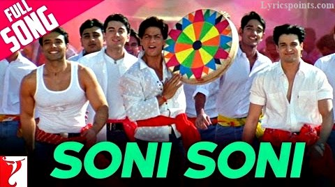 Soni Soni Akhiyon Vaali Holi Song from Mohabbatein and More Holi Songs