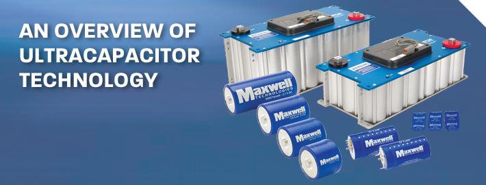 Maxwell Ultracapacitor Module