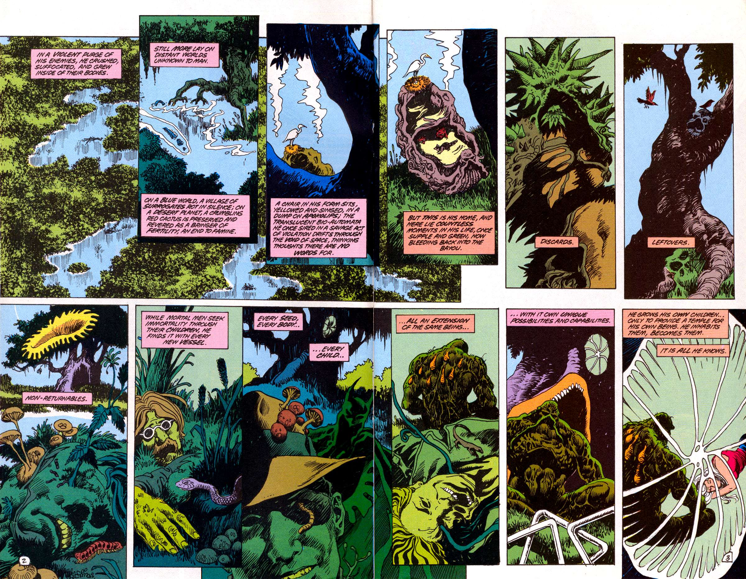 Swamp Thing (1982) Issue #78 #86 - English 4