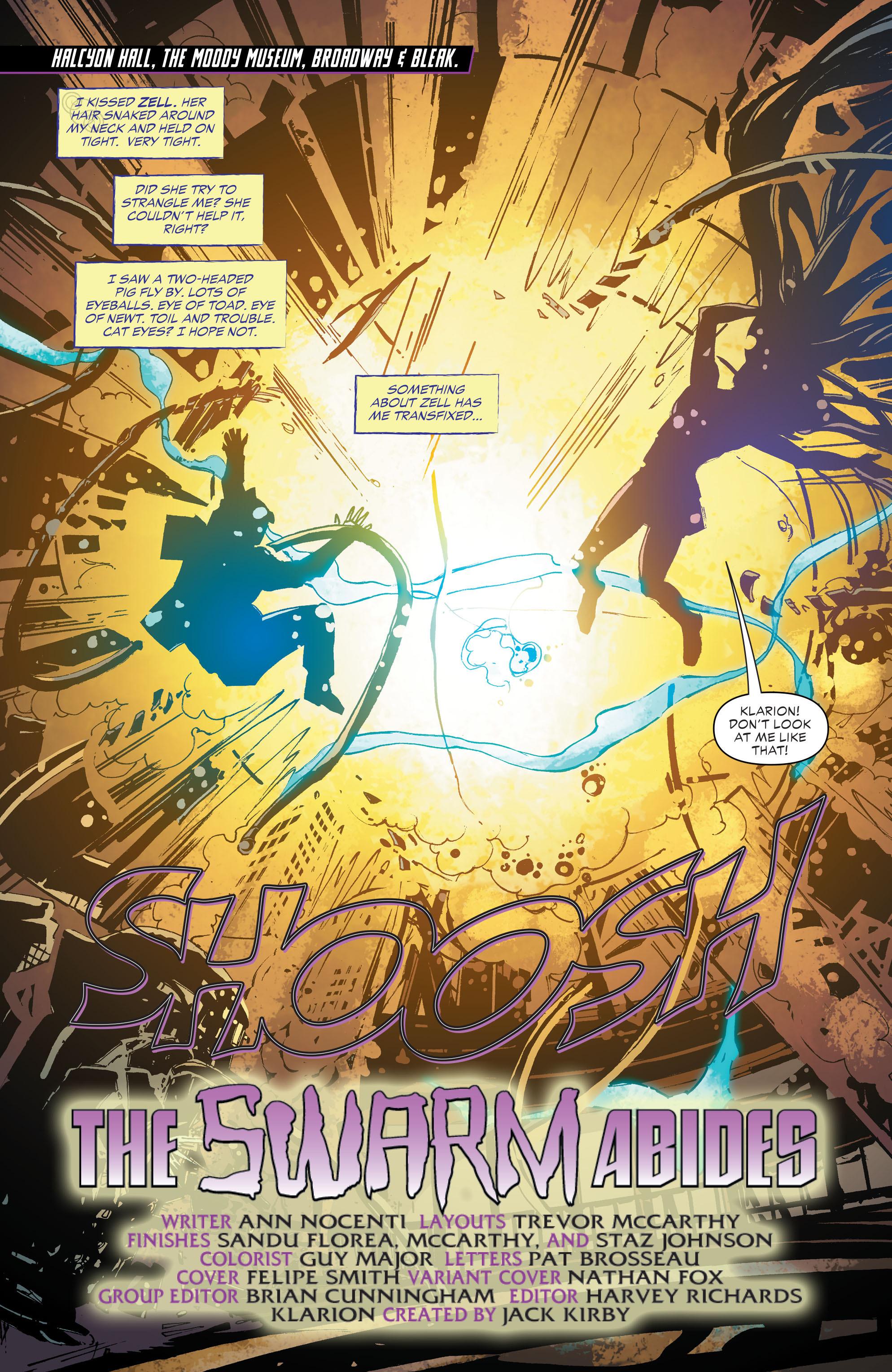 Read online Klarion comic -  Issue #3 - 2