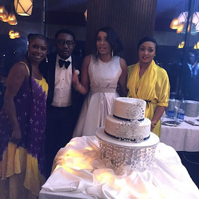 See Photos from AY's wife, Mabel Makun's birthday party