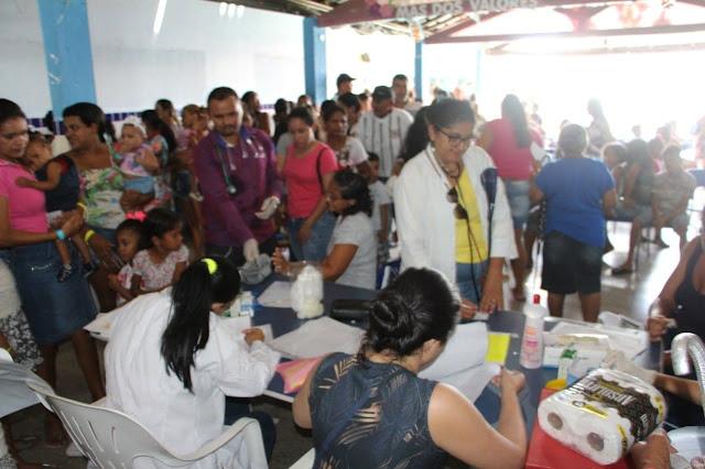 6ª etapa do Saúde na Comunidade em Delmiro Gouveia realiza mais de 1.400 atendimentos