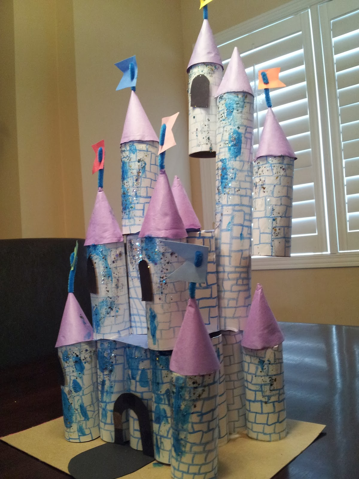 Little Townhome Love Cinderella Castle Craft