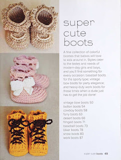 Super Cute Crochet for Little Feet by Vita Apala - pg 49