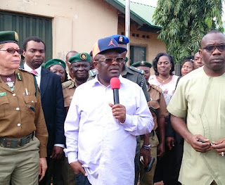 Botched jailbreak: Umahi declares state of emergency on  Abakaliki prisons