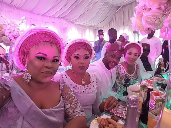 nollywood celebrities femi adebayo wedding