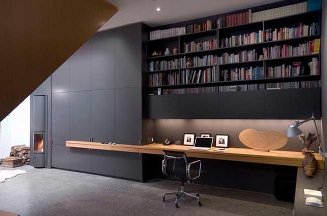lovely modern home office design | HOME OFFICE - PAUL RAFF STUDIO | VELVET MOON DIARIES