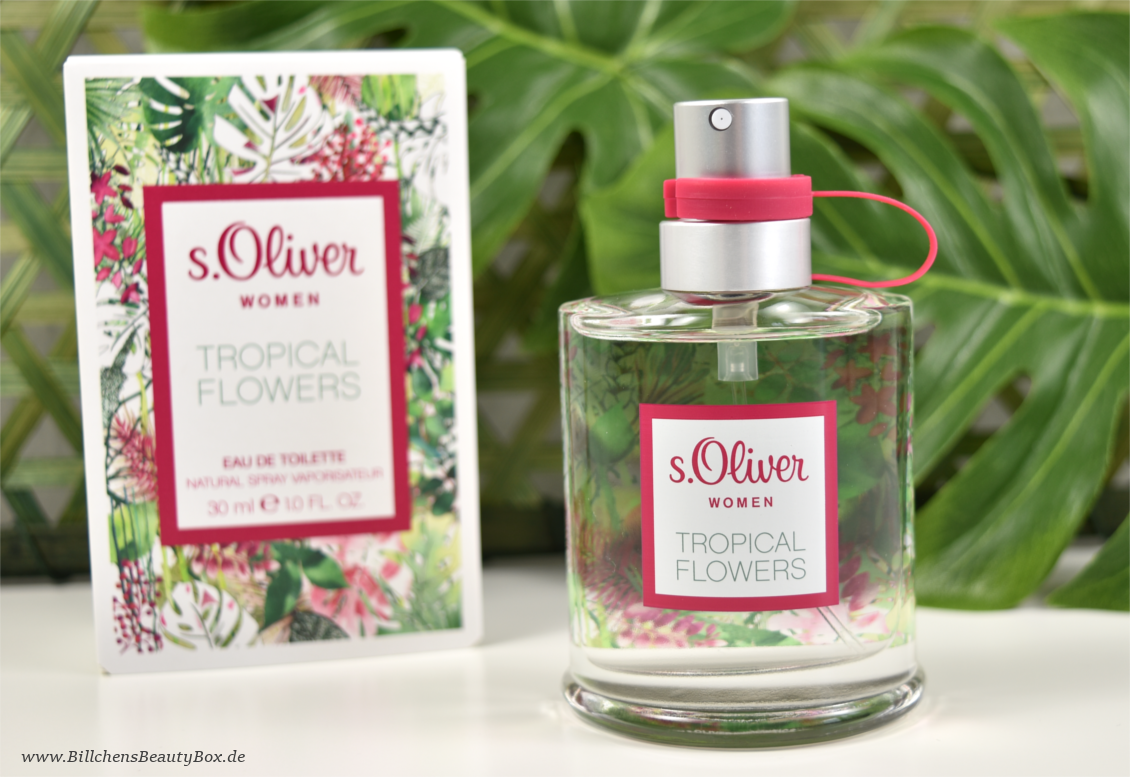 s.Oliver - Tropical Flowers
