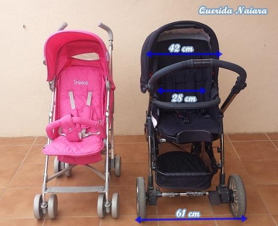 4faec3c02 Y hablando de Bebecar, para acabar os hago una comparación de la silla del  trío I-Basic de Bebecar con la silla de paseo Tribeca de Asalvo.