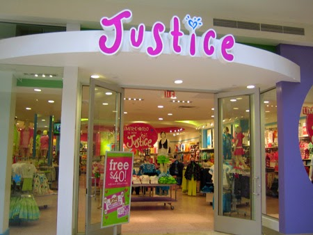 Coupons for justice clothing store