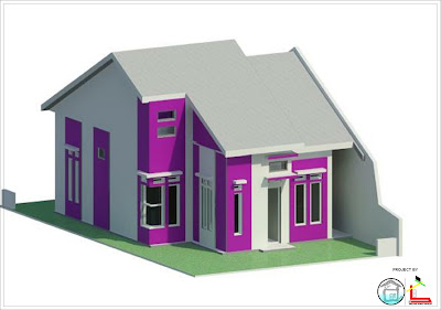 Mozaik Arsitek Desain Rumah Type 70 Di Luas Lahan 127m2 15x8 5
