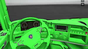 Scania Green interior – ETS 2 Mods