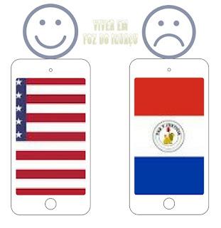 Você sabia que um celular comprado nos EUA é bem de uso pessoal mas o comprado no Paraguai não é?