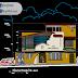 مخطط مشروع مطعم طابقين بشكل مميز كاملا اوتوكاد dwg
