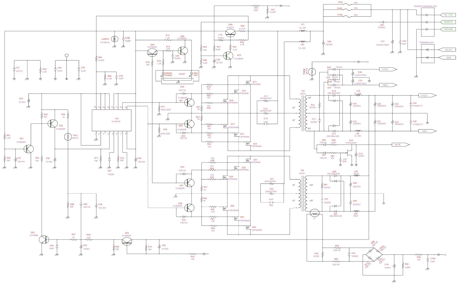 2 Bridged Speaker Wiring Diagram, 2, Free Engine Image For