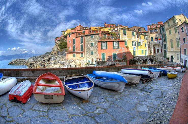 Top 10 Wonders of the Mediterranean World - Tellaro, Italy