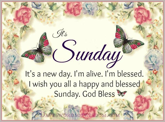 Daveswordsofwisdomcom Have A Blessed Sunday