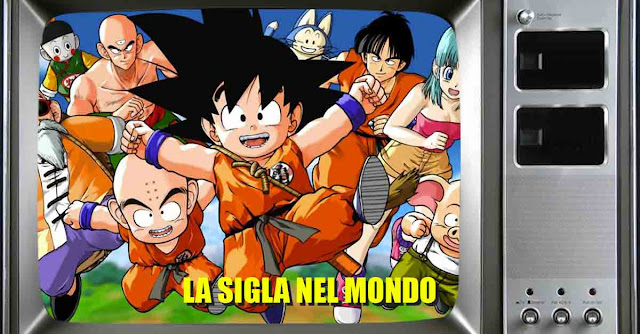 La sigla di Dragon Ball in ciascun paese dov'è stato trasmesso