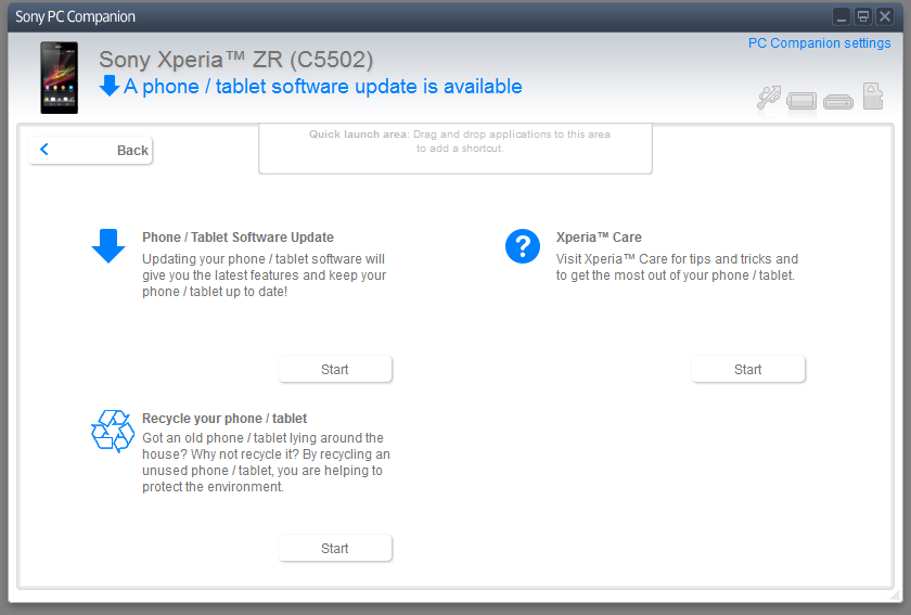 Sony first step guide software download