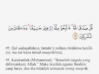 Tajwid Surat Ali Imran Ayat 95