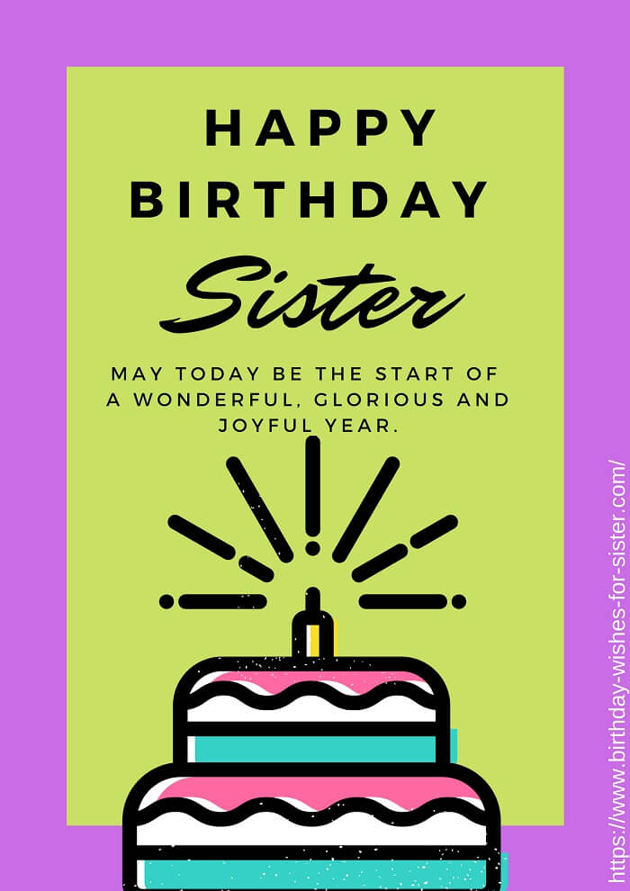 444 Osm Happy Birthday Sister Status Wishes Images