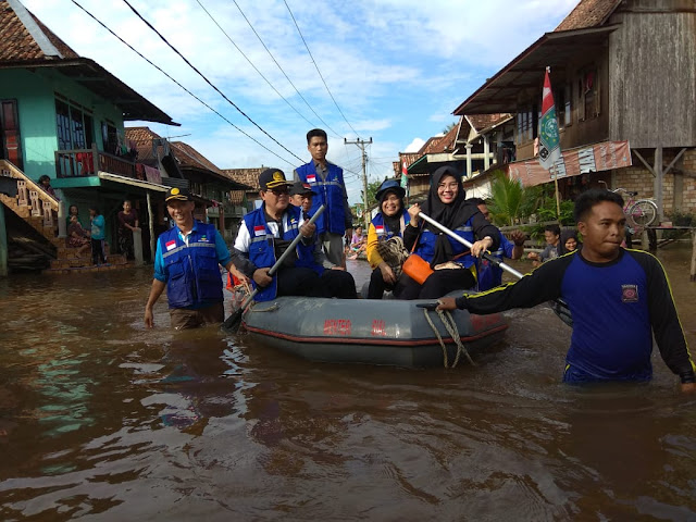 Bupati Muratara Syarif Hidayat Langsung Tinjau Keadaan Kecamatan Karang Dapo
