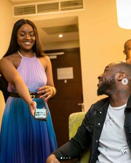 Photos Of  Davido And Chioma Trip Over The Weekend