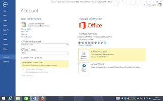 m non gonna talking something near Android Indophoneboy How to Activate Expired Office 365 on Windows (Advan Vanbook W80)