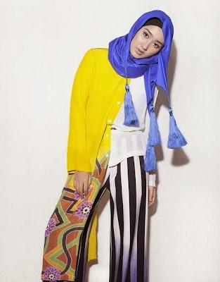 Model Hijab Dian Pelangi Untuk Lebaran Terbaru