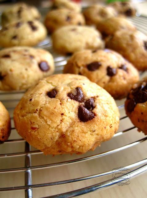 Recette : les biscuits chocolat et noisette