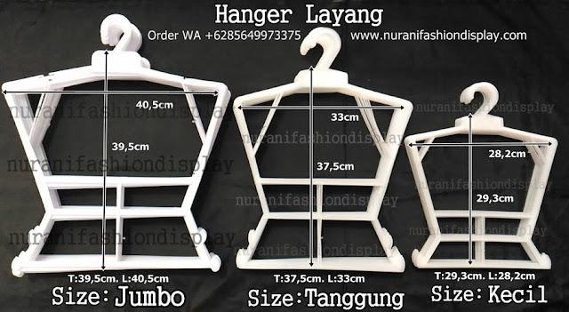 Hanger Model Layang, hanger daster, hanger babydoll