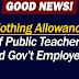 GOOD NEWS! Update on the Clothing Allowance of Teachers